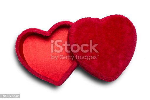 Valentine Heart Shaped Candy Box