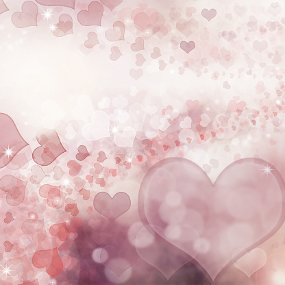 896306118 istock photo Valentine Hearts Abstract Pink Background. 1092721236
