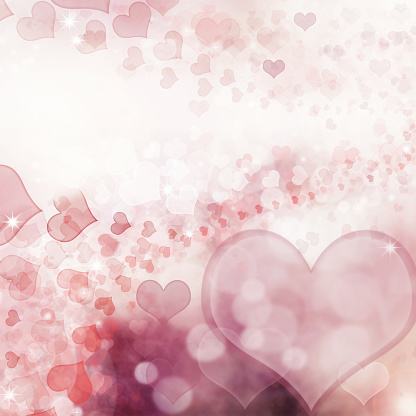 896306118 istock photo Valentine Hearts Abstract Pink Background. 1092723736