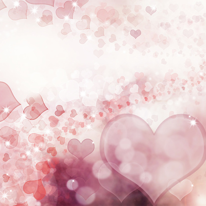896306118 istock photo Valentine Hearts Abstract Pink Background. 1092723846