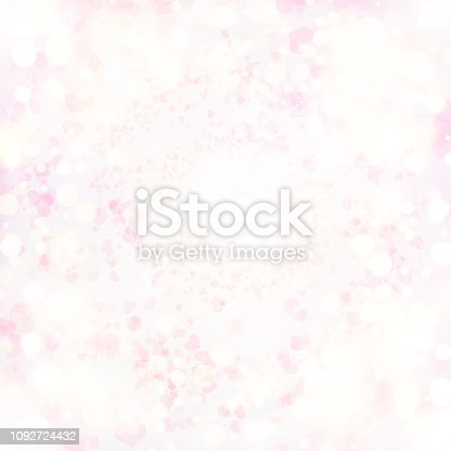 896306118istockphoto Valentine Hearts Abstract Pink Background. 1092724432