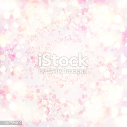 896306118istockphoto Valentine Hearts Abstract Pink Background. 1092724910