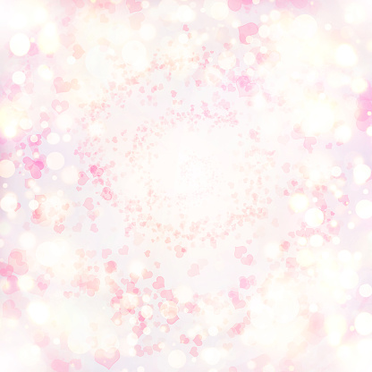 896306118 istock photo Valentine Hearts Abstract Pink Background. 1092724910