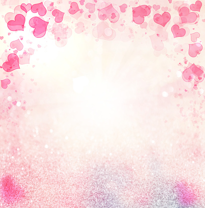 896306118 istock photo Valentine Hearts Abstract Pink Background. 1092769806