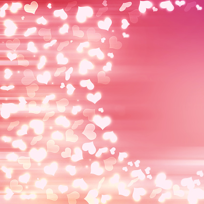 896306118 istock photo Valentine Hearts Abstract Pink Background. 1093702936