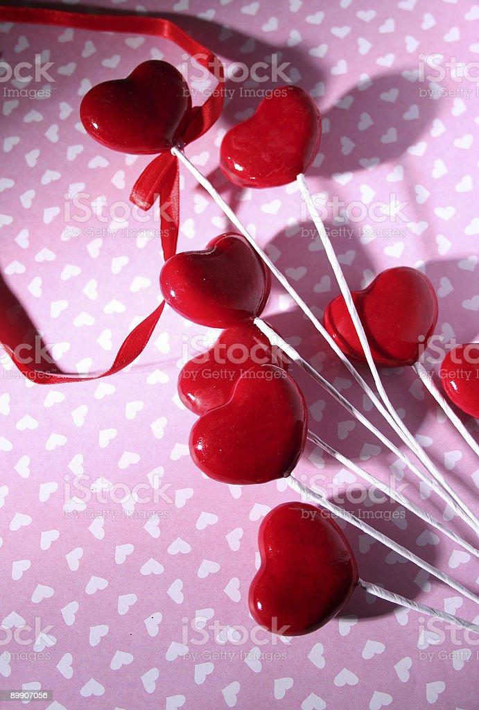 Valentine Hearts Lizenzfreies stock-foto