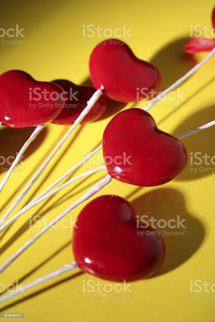 Valentine hearts royalty-free stock photo