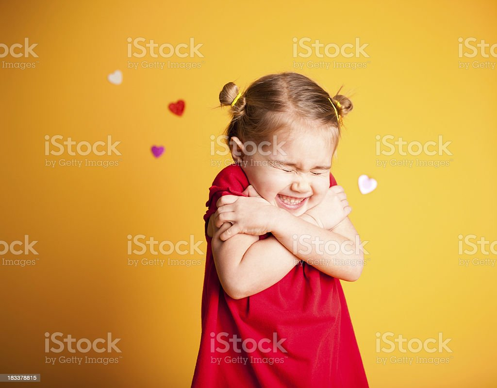 Valentine Hugs stock photo