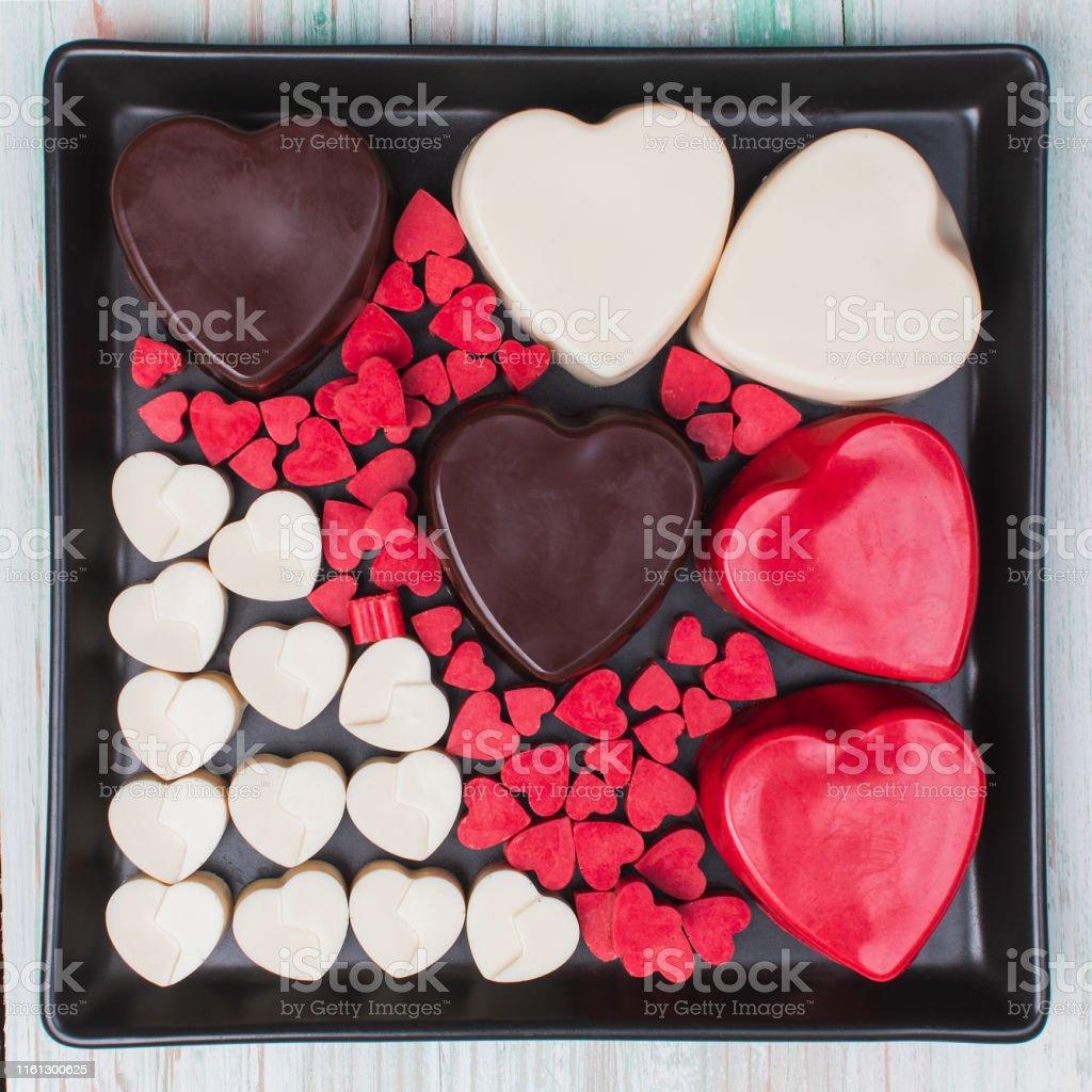 Valentine Love Heart Gift Box Chocolate Stock Photo Download Image Now Istock