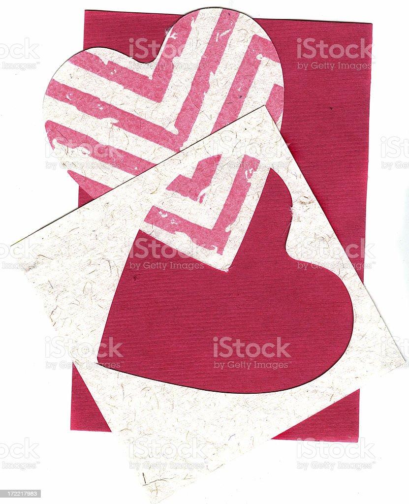 Valentine materials royalty-free stock photo
