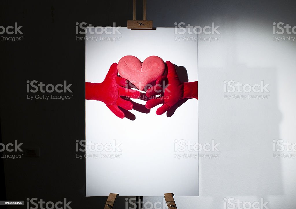 Valentine royalty-free stock photo