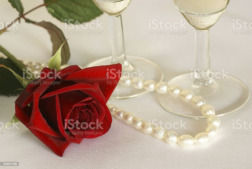 Valentine still life royalty-free stock photo