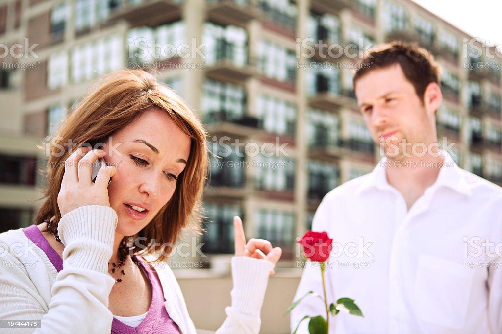 Valentine Story royalty-free stock photo