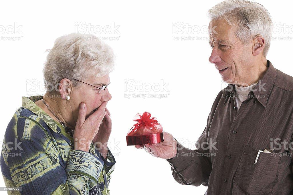 Valentine surprise royalty-free stock photo