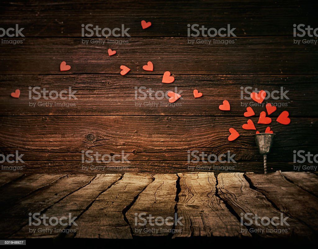 Valentines background stock photo