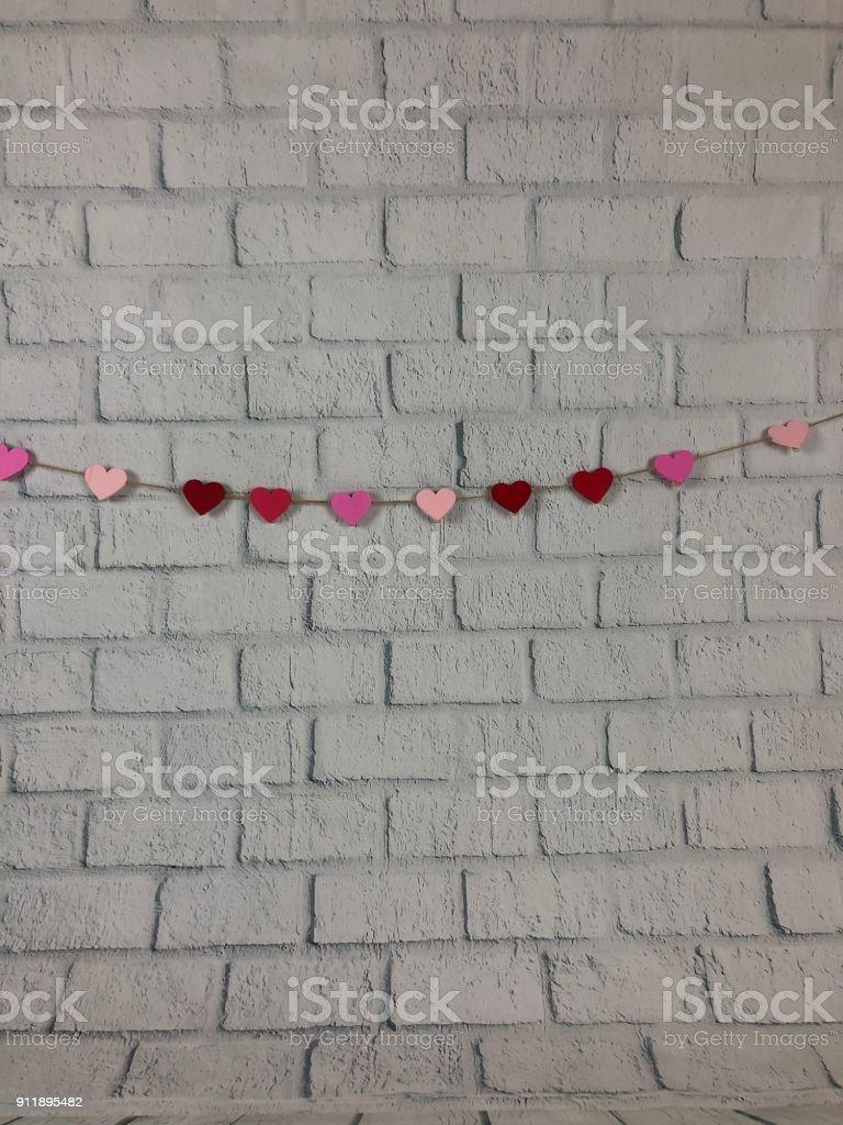Valentine's background stock photo