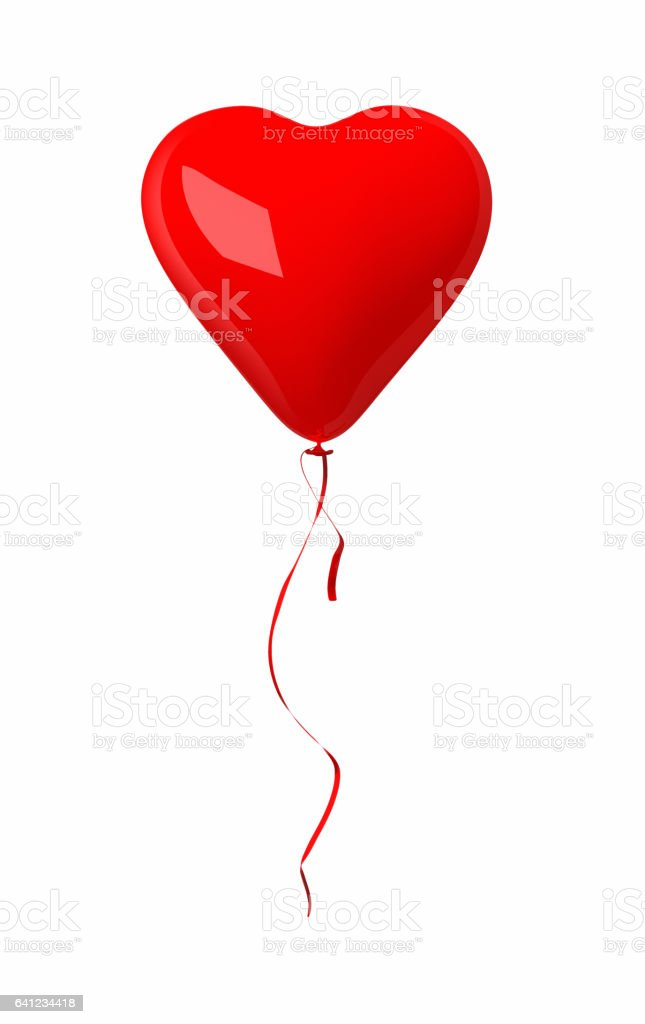 Valentines Balloon stock photo