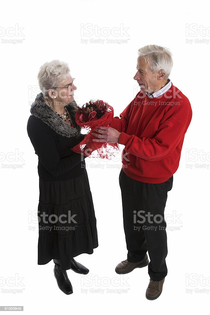Valentines bouquet royalty-free stock photo