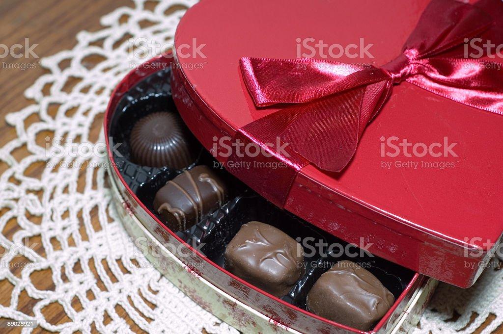 Bonbons de Saint-Valentin photo libre de droits