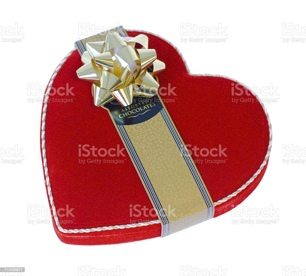Valentines Chocolates stock photo