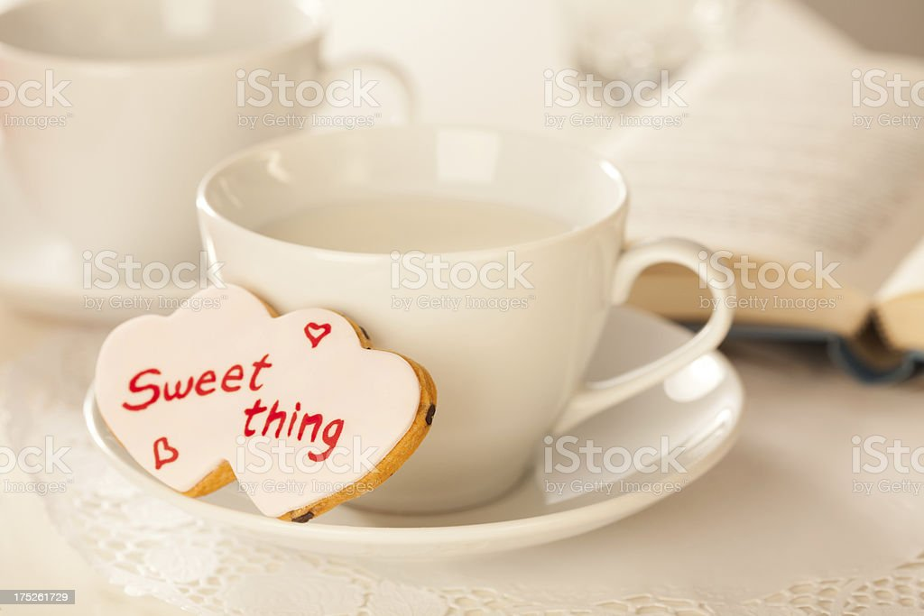 Valentine's Cookie royalty-free stock photo
