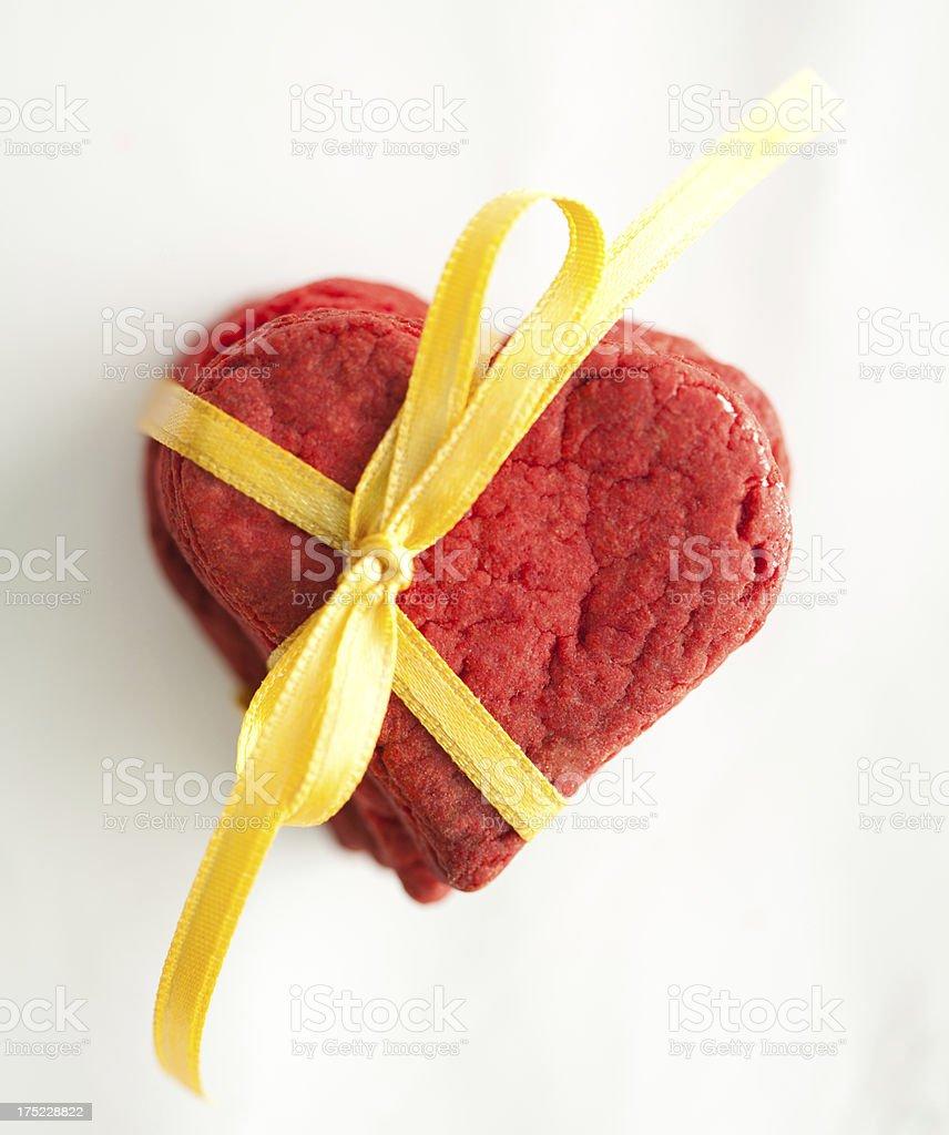 Valentine's Cookies royalty-free stock photo