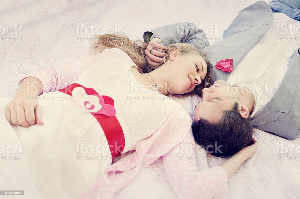 Valentine's Couple royalty-free stock photo