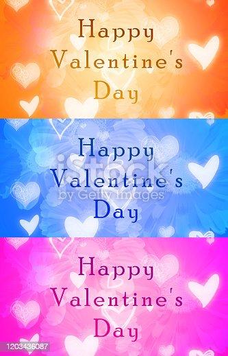 istock Valentine's day 3 banner background 1203436087
