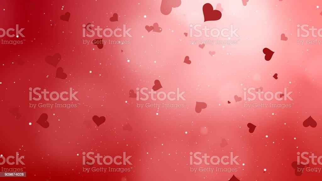 Valentinstag abstrakten Hintergrund – Foto