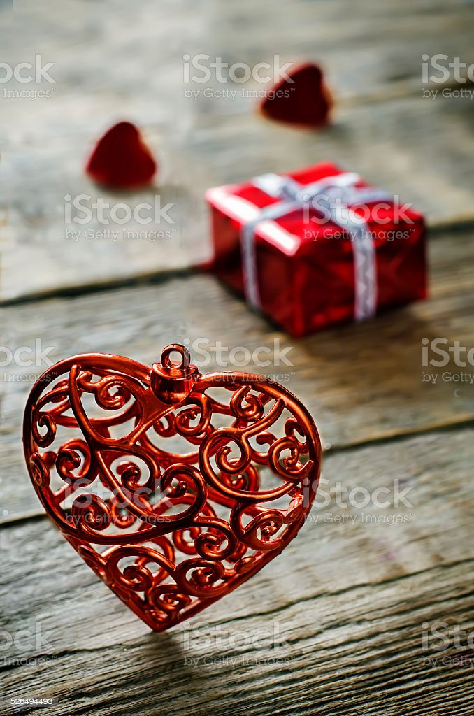 Valentines Day Background With Hearts Stock Photo More Pictures Of
