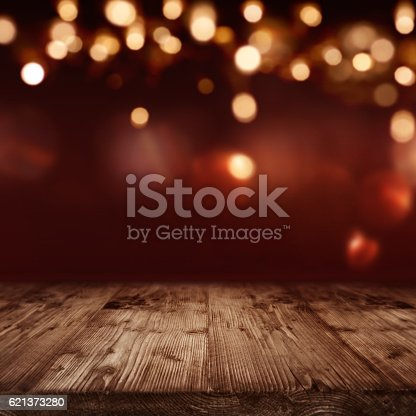 istock Valentines day background with yellow glows 621373280