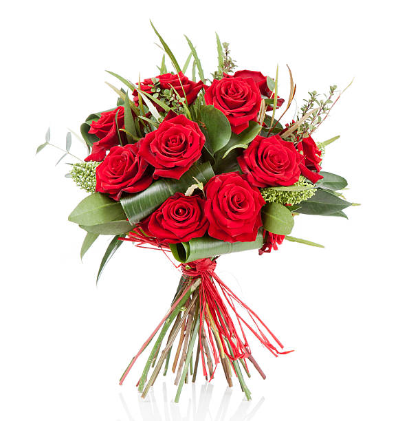 valentine's day, bouquet, anniversary gift - bunch stock photos and pictures