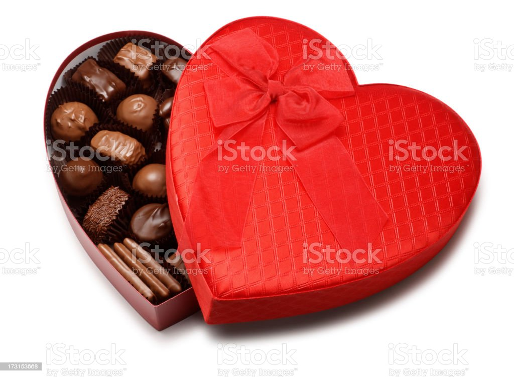 Valentine's Day Candy royalty-free stock photo