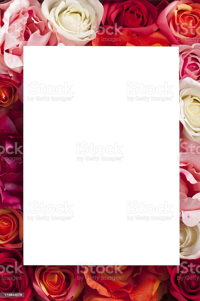 Valentine's Day Card royalty-free stock photo