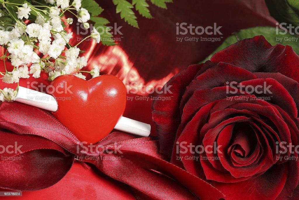 Valentine's day card. Lizenzfreies stock-foto