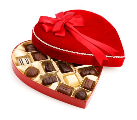 Valentine's Day Chocolate Candy