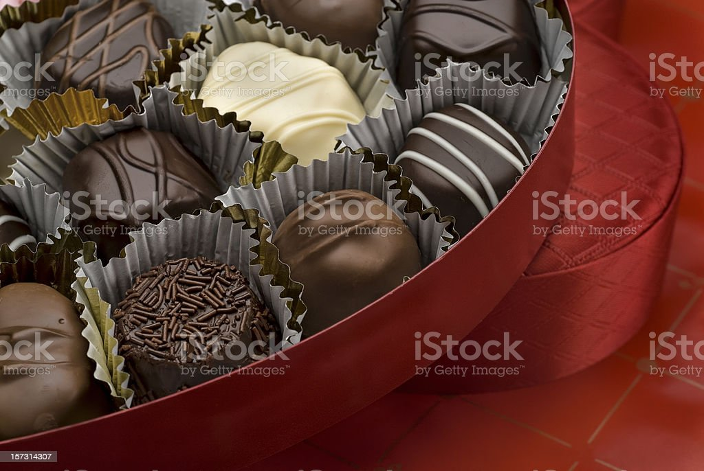 Valentine's Day Chocolate royalty-free stock photo