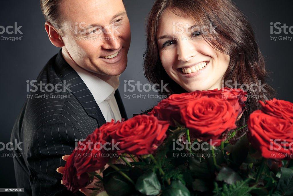 valentine's day couple royalty-free stock photo