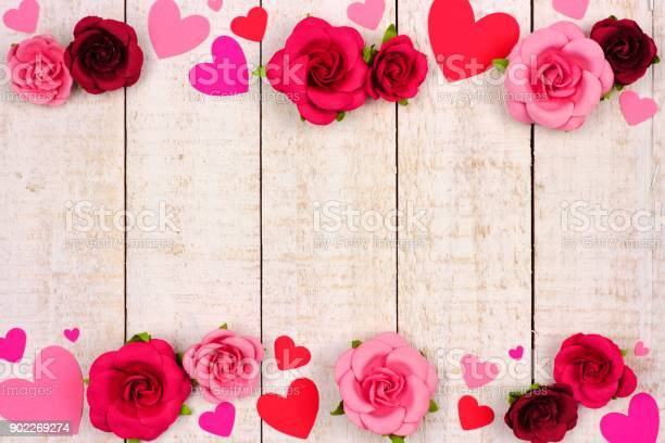 Valentines day double border of hearts and roses against rustic white picture id902269274?b=1&k=6&m=902269274&s=612x612&h=wa sntqwmvcn urof1rmny9wuq818kek7x22eibqtvy=