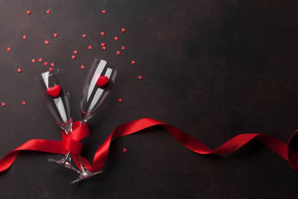 발렌타인의 날 인사말 카드 - 발렌타인 카드 뉴스 사진 이미지