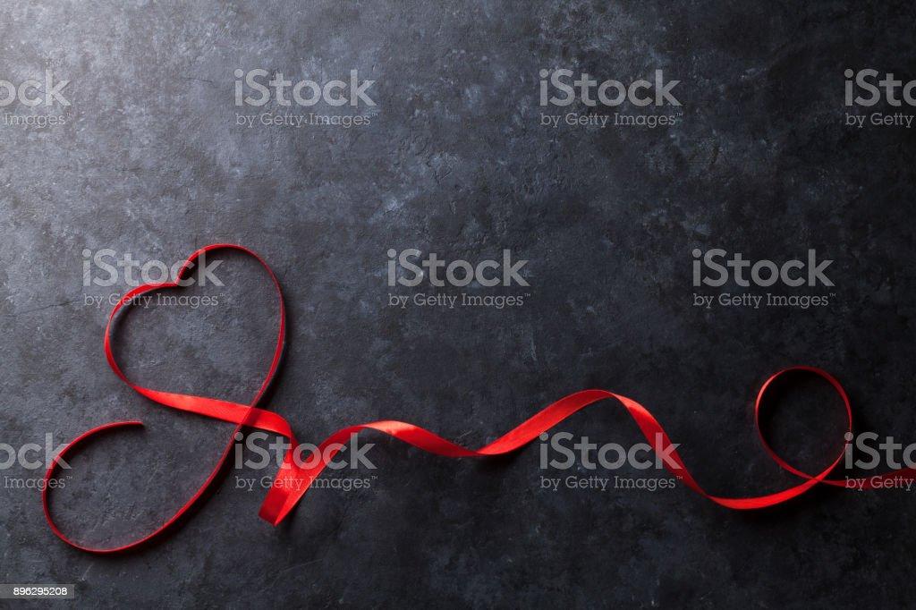 Dia dos Namorados Cartão de saudação - foto de acervo