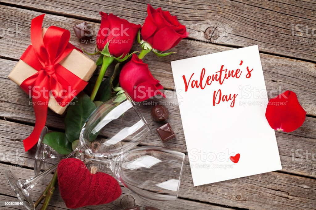 Valentines day greeting card royalty-free stock photo