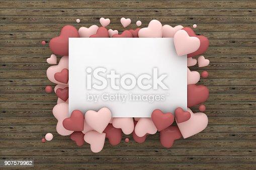 istock Valentine's Day Greeting Card 907579962
