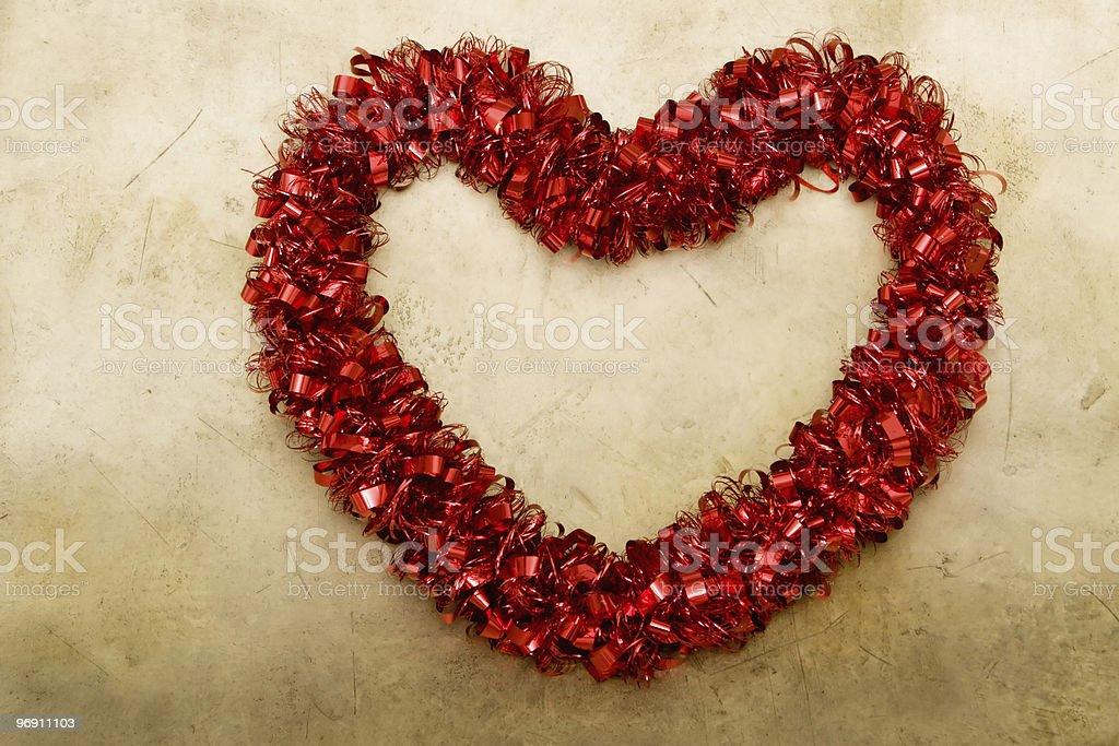 Valentine's day heart royalty-free stock photo