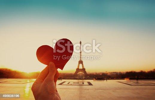 istock valentines day in Paris 495606196