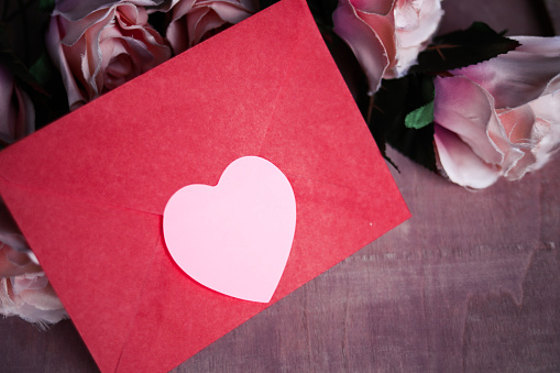 Valentine's Day , Love Emotion And Love Letter
