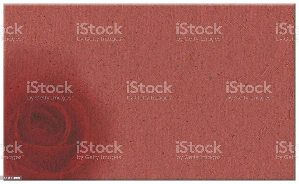 Valentine's day love letter royalty-free stock photo