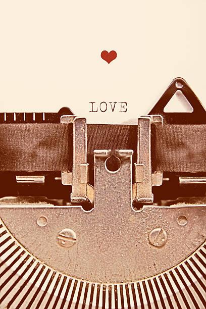 Día de San Valentín mensaje - foto de stock