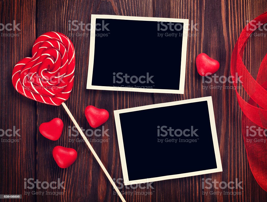 valentines day photo frames royalty free stock photo - Valentines Picture Frames