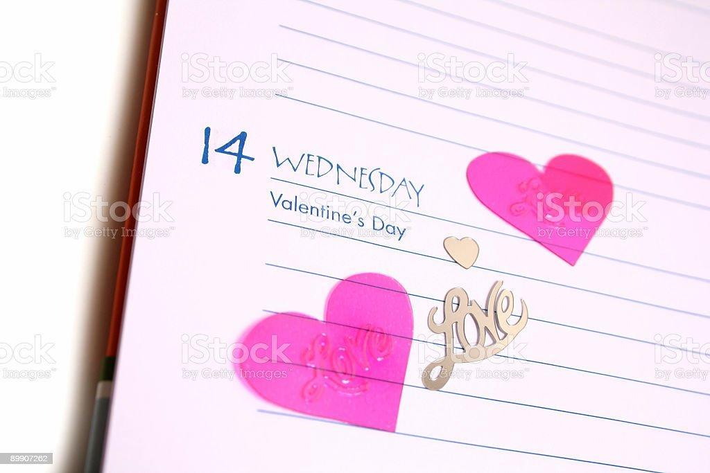 Пакет «День святого Валентина» Стоковые фото Стоковая фотография
